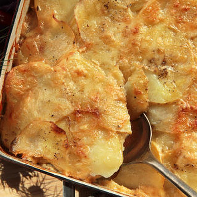 Dilled Potato Gratin