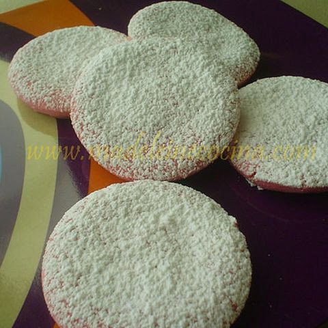 Pink Shortbread Cookies