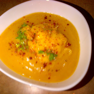 Butternut squash - Apple soup