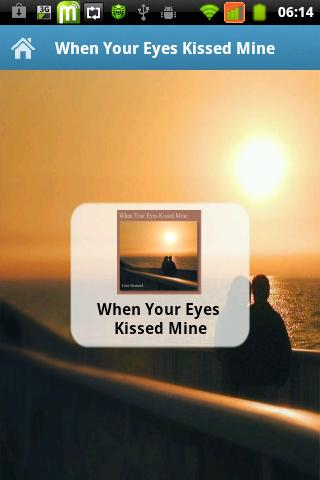 When Your Eyes Kissed Mine