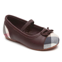 Burberry Burberry Check Bar Shoe BALLERINA SHOES