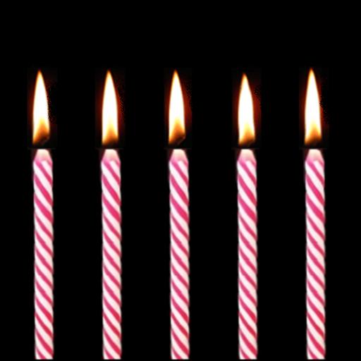 Birthday candles LOGO-APP點子