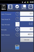 Screenshot of Easy Financial Calculator