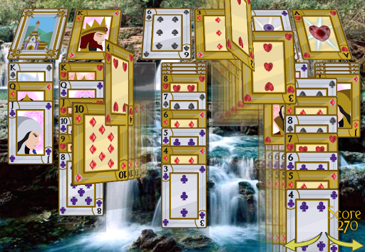Solitaire 3D Pro - screenshot