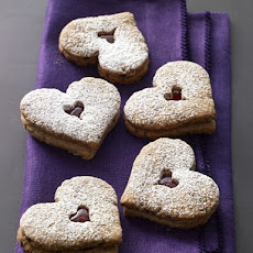 Tate's Bake Shop Linzer Heart Cookies