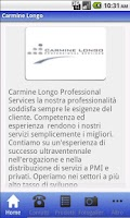Screenshot of Carmine Longo Service
