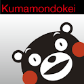 KUMAMON clock icon