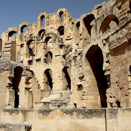 El Jem walls by Sergeja Photography - Buildings & Architecture Public & Historical