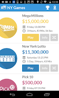 Screenshot of Jackpocket Lottery Results