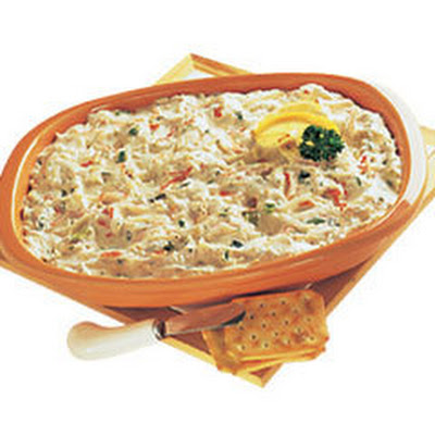 Warm Vegetable & Crab Dip