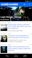 Screenshot of Eurogamer (unofficial)