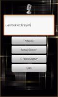 Screenshot of Ses Tanıma