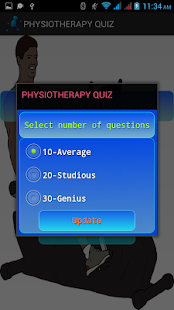 Physiotherapy Quiz - screenshot
