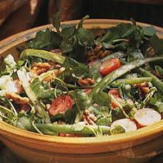 Green Bean, Watercress and Walnut Salad