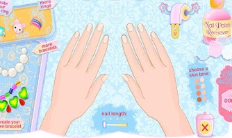 Screenshot of Nail Salon