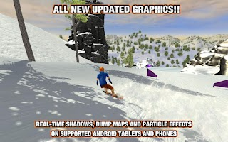 Screenshot of Crazy Snowboard Pro