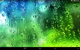 Screenshot of Summer Rain Live Wallpaper