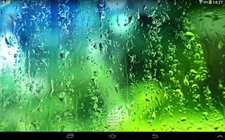 Screenshot of Cool Summer Rain LWP