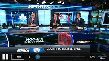 Screenshot of Sportsnet Now