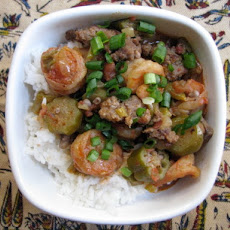 Shrimp, Andouille and Okra Gumbo