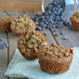 Streusel Topped Chocolate Chip Muffins