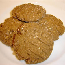 Lower Fat Oatmeal Molasses Cookies