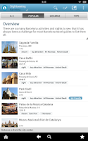 Screenshot of Barcelona Travel Guide Triposo