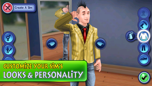 sims download on android