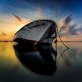 just wait by Rizki Mahendra - Transportation Boats