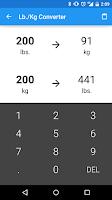 Screenshot of Rep Max Calculator