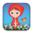 Red Riding Hood: Kids game mobile app icon