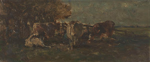 RIJKS: Willem Roelofs (I): painting 1897