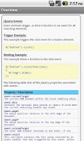 Screenshot of jQuery Pro Quick Guide