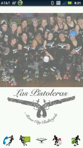 Las Pistoleras Roller Derby