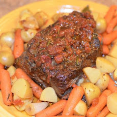 Balsamic Pot Roast (Crock Pot)
