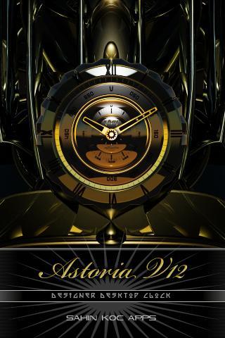 ASTORIA美麗的時鐘部件