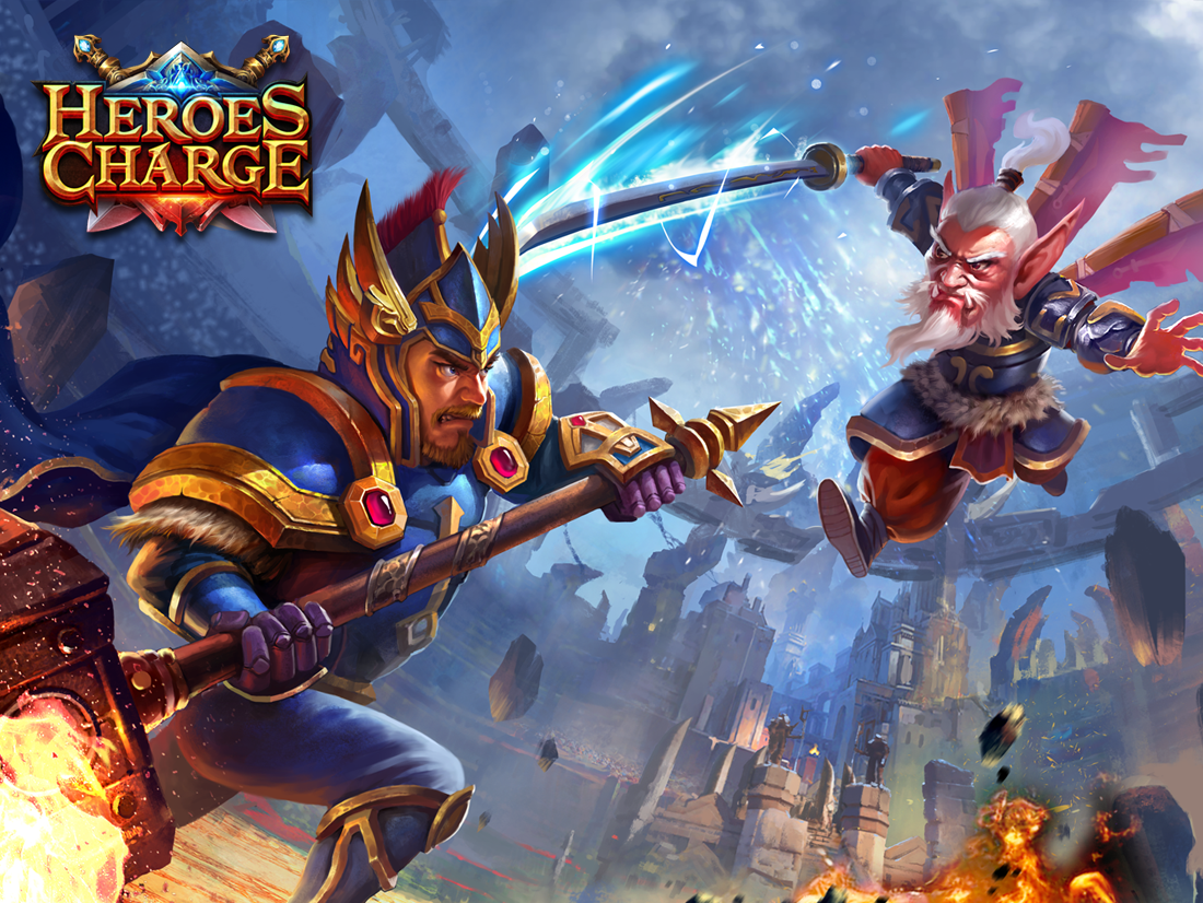 Heroes Charge Screenshot 0