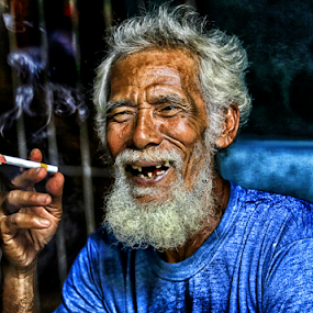 smile oh no  by Daril Sugito - People Portraits of Men