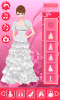Screenshot of Wedding Dressup