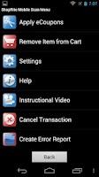 Screenshot of Mobile Scan