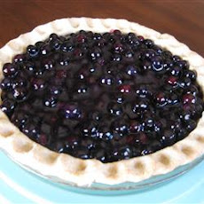 Five-Minute Blueberry Pie