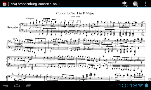 J.S Bach Complete Sheet Music - screenshot