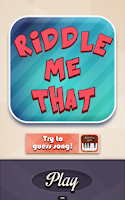 Screenshot of Riddle Me That !