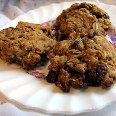 Simple Oatmeal Cookies or Cowboy Cookies