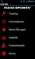 Screenshot of FLEXI-BAR & XCO Workout