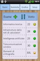 Screenshot of Esami Universitari