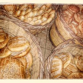 Fresh bread by Stamatis Mammis - Food & Drink Cooking & Baking