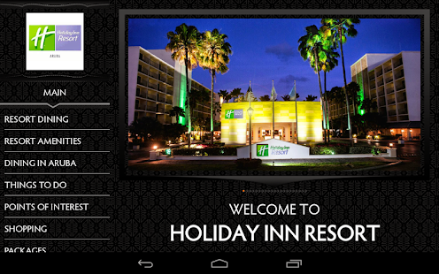 Holiday Inn Aruba Resort - screenshot