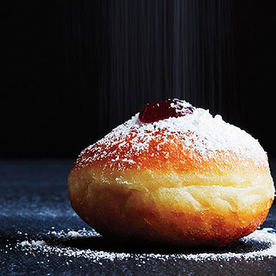 Strawberry Sufganiyot