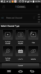PoChannel - Your MediaMark - screenshot